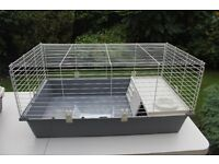 Cage (indoor) - lovely clean condition for Rabbit or Guinea pigs used when rabbit came for holiday!