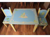 Kids table and chairs. Fantasy fields by Teamson.