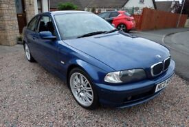 2002 BMW 318CI SE - MOTED TILL JULY 2019 in ARMAGH CITY