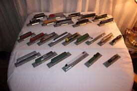 N Scale Model Locomotives for display only
