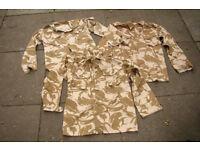 Vintage - collectable - 1990 - Gulf War 1 Army Issue Desert Pattern Shirt