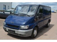 LEFT HAND DRIVE FORD TRANSIT VAN, DRIVES WELL,GOOD LOAD SPACE,ENGINE & MECHANICS,PAPER SORTED.CALL