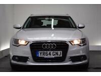 AUDI A6 AVANT 2.0 AVANT TDI ULTRA SE [SAT NAV/LEATHER] 5d AUTO 1 (silver) 2014