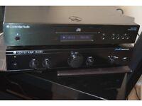 CAMBRIDGE A1 MK3 AMP 150W AUXIN/CAMBRIDGE AZUR 650 CD PLAYER