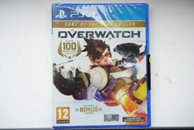Overwatch PS4 GOTY brand new SEALED