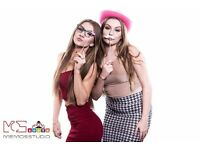 PHOTO BOOTH HIRE £100 FOR 2H-GREAT QUALITY