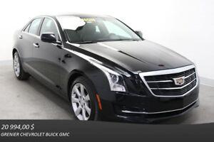 2015 Cadillac ATS SEDAN AWD Turbo *TOIT CAM.REC SIÈ.CHAUF*