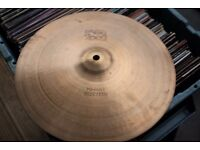 "Paiste 2002 13"" Hi hat bottom cymbal - Hollow logo - Swiss - Vintage"