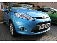 2010 FORD FIESTA ZETEC 3DOOR LOW MILLAGE (48K) A/C CD USB AUX HPI Clear