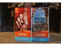 Pocket rough guides ROME and LISBON
