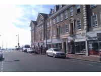 A large bright furnished room in central apartment close to rent near seafront in Eastbourne
