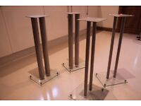 4 Speaker Stands (will sell as pairs)