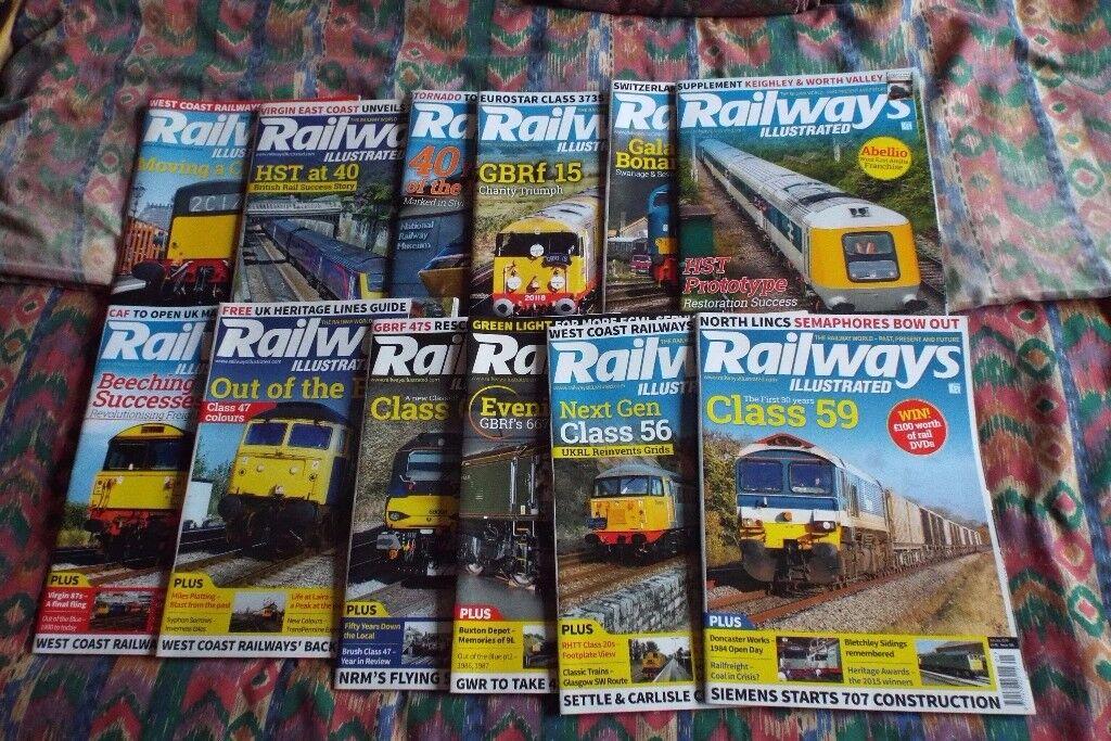 Railways Illustrated 2016 Magazines