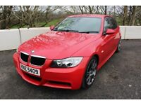 "06 BMW 320D M SPORT SALOON 163 ++ 18"" ALLOYS , LONG MOT & 45+ MPG ++"