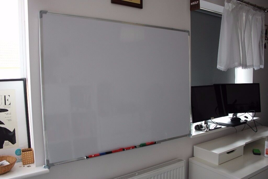 5 Star Easy Office Supplies (W1200mm x H900mm) Whiteboard