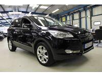 Ford Kuga TITANIUM TDCI [LEATHER / BLUETOOTH / SONY DAB] (panther black metallic) 2013