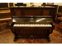 Very good antique Kaps over strung piano. Tuned and UK delivery available