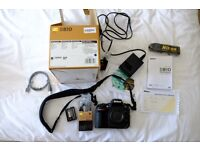 Nikon D810 DSLR (body only), boxed and papers, excellent condition - £2000 OVNO