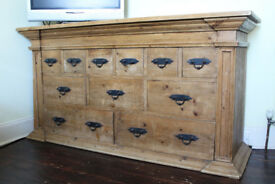 Large Solid Wood Sideboard with drawers