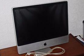 """Apple iMac 24"""" (Early 2009) 640GB HDD, 4GM RAM, 2.66GHz - OS X El Capitan"""