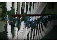 Christmas Garlands with Lights