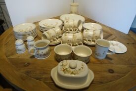 M&S - HARVEST CROCKERY - MADE IN UK - OVEN TO TABLE - USED - GOOD CONDITION