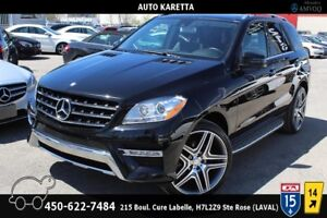 2013 Mercedes-Benz M-Class ML350 BT NAVI/CAMERA/PANORAMIC/MAGS N