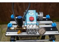 industrial cat pump pressure washer.