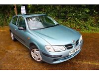 2001 Nissan Almera 1.5i Activ - 12 Months MOT - Reliable Japanese Car