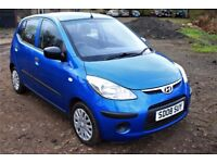 Hyundai i10 1.1 L 2008 Nice city car The same size as Toyota Aygo or Peugeot 107