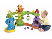 Fisher-Price Go Baby Go Crawl and Cruise Musical Jungle ball drop toy rrp£99