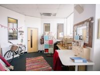 Small-medium sized studio/office space available now in Bristol Old Market: Deben House G04