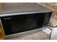 Sharp microwave oven. Full working order.