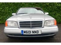 AUTOMATIC CLASSIC CAR 1994 MERCEDES BENZ C280 SPORT 2.8 195 BHP MINT CONDITION 110000 MILES MOT 4.18