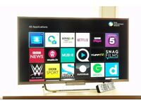 "Sony 32"" Full HD LED Smart TV 200Hz Built in Wi-Fi, Freeview + Freesat HD"