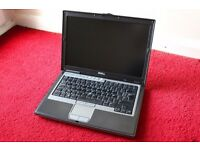 """Dell Latitude D620 Core 2 DUO 14"""" 1.66GHz CPU 1.5GB RAM no HDD & lines on screen"""
