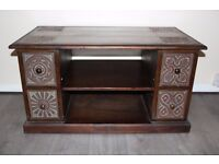 Wooden TV unit from The Pier