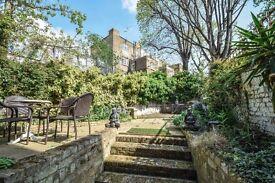 Beautiful private garden flat off High Street Kensington