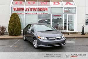 2012 Honda Civic LX*Bluetooth*AC*Groupe Electrique*