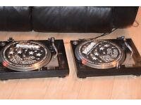 TWO KAM DDX-680 DIRECT DRIVE TURN TABLE/NEED 2 NEEDLE