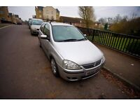 2004 Vauxhall Corsa 1.4L 3-door Silver, low miles, full service record