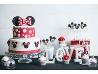 Customized cakes and desserts (birthday, wedding, corporate, christening etc.)