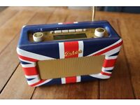 Roberts Revival RD60 dab radio - Union Jack cover