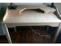 Ikea Computer Desk, pale pine colour RRP £110