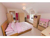 Mamas and Papas Horizons Nursery Bedroom Furniture in natural oak