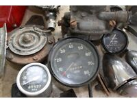 Selection of Rover 75/16 car parts and spares, believed pre-1950