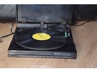 KENWOOD DIRECT DRIVE TURNTABLE/JAPAN CAN BE SEEN WORKING