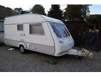 1995 Europa Classic Caravan. Two birth, 19 foot long
