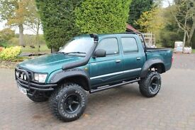 Toyota Hilux pickup Customised loads spent, one off cool truck