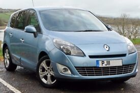 2011 Renault Grand Scenic 1.5 DCI automatic TomTom dynamique low millage lady owner auto 7 seater